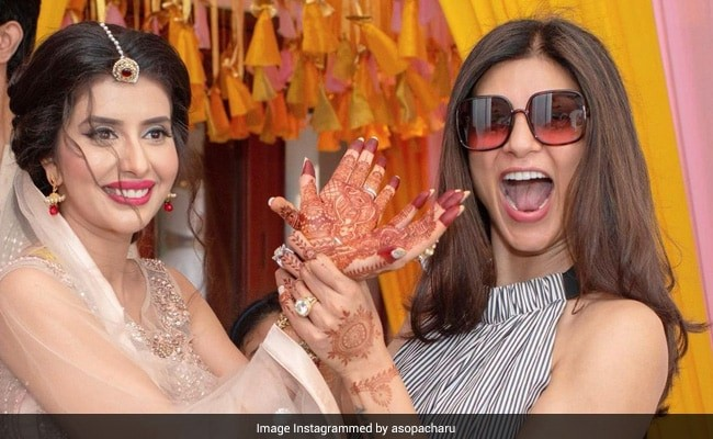 How Sushmita Sen's Sister-In-Law Charu Asopa Wished Her On Her Birthday